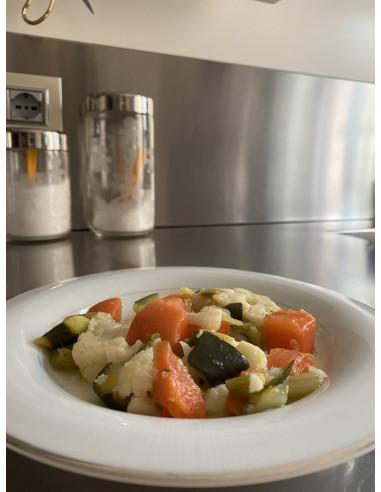 Mix di verdure fresche al vapore